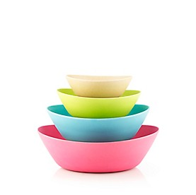 Fuller Brush Oval Salad Bowl Set Of 4