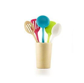 Fuller Brush 6 Piece Kitchen Utensil Set W/Container