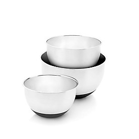 Fuller Brush 3 Piece Stainless Steel Mixing Bowl Set
