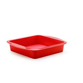 Fuller Brush Square Cake Pan, 10.5x9.5x2 Inches