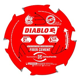 Diablo Fiber Cement Portable Saw Blade (Coated)