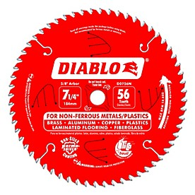 Diablo Specialty Non Ferrous & Plastic Saw Blade (Coated)