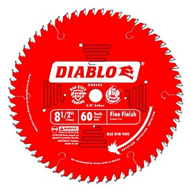 Diablo Contractor Portable Saw Blade (Coated)