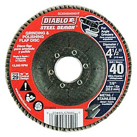 """41/2"""" Steel Demon MAXFLAP 40G CONICAL No Hub - 1 Pack"""