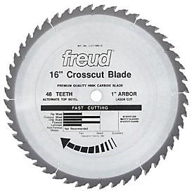 Freud LU71M016 - Industrial Carbide Saw Blade 16x48x1 Atb