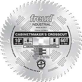 Freud Cabinetmaker's Crosscut Saw Blade