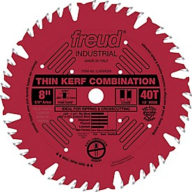 Freud Thin Kerf Combination Saw Blade