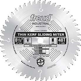 Freud Thin Kerf Sliding Compound Miter Saw Blade