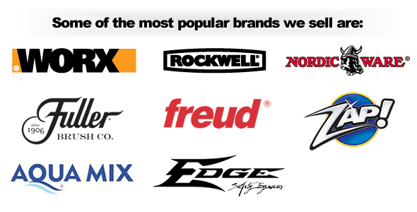 Some brands we carry