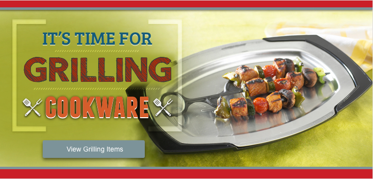 View all grilling cookware