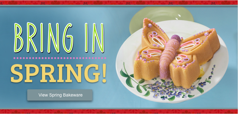 Shop Our Spring Bakeware