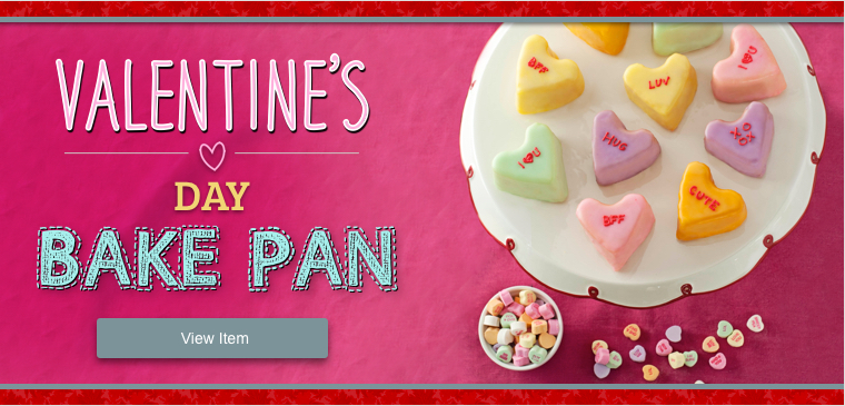 Shop Valentine's Day Bake Pan