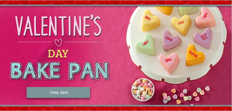 Shop Valentine's Day Bake Pan