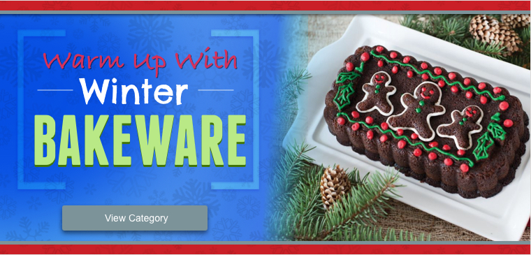 Shop Nordicware Winter Bakeware