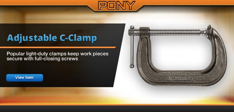 Pony C clamps