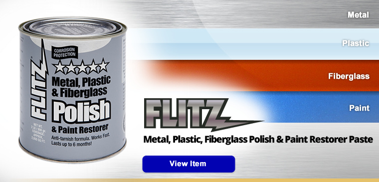 Paste Metal Polish, Fiberglass and Paint Restorer