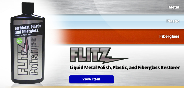 Liquid Metal Polish, Plastic, and Fiberglass Restorer