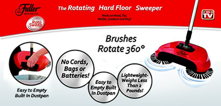 FBROT-6 - Fuller Brush Roto Sweep