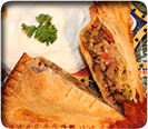 Enjoy Spicy Taco Pockets Pie with your EZ pockets Pie Pan