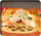 Make amazing Chicken Puff Pastry Pot Pie using your EZ Pockets Pie Pan