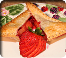 You will love making Fruit pies with the EZ Pockets Pie Pan