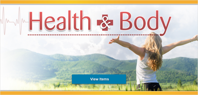 View all of the health and body products we have to offer