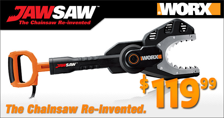 The Worx Jawsaw, The chainsaw re-invented