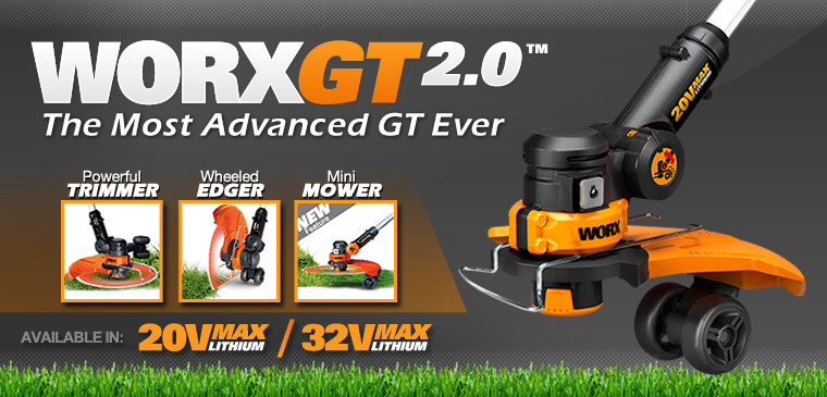 WORX GT 2.0 Grass Trimmer and Edger