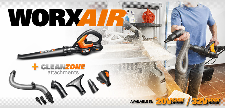 WORX Air with Smartzone Attachments