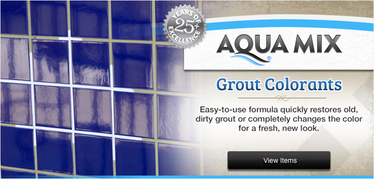 Aqua Mix Grout Colorant