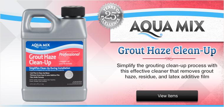 Aqua Mix Grout Haze Clean-Up