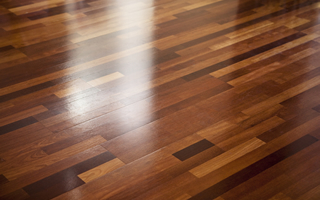 Restore-a-floor leaves a brilliant shine