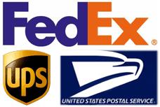 FedEx and USPS Logo