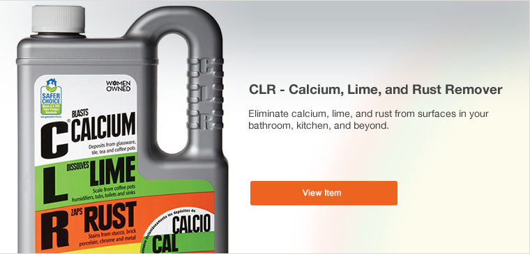 View CLR Calcium Lime and Rust Remover