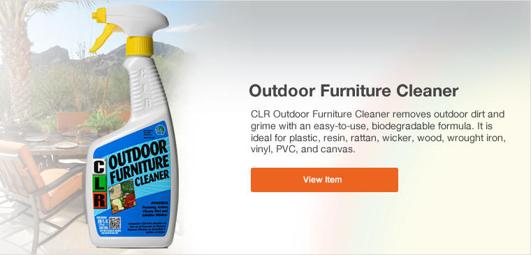 View Outdoor Furniture Cleaner