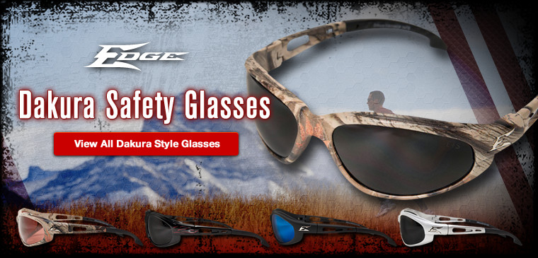 View all Edge Dakura style safety glasses
