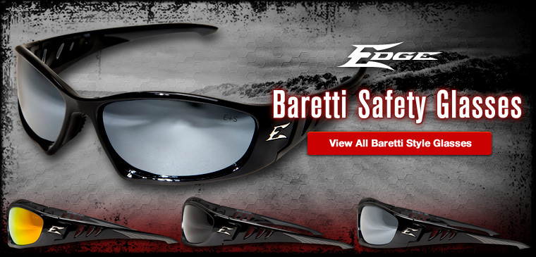 View all Edge Baretti style safety glasses