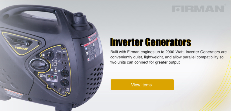 Shop Firman Inverter Generators