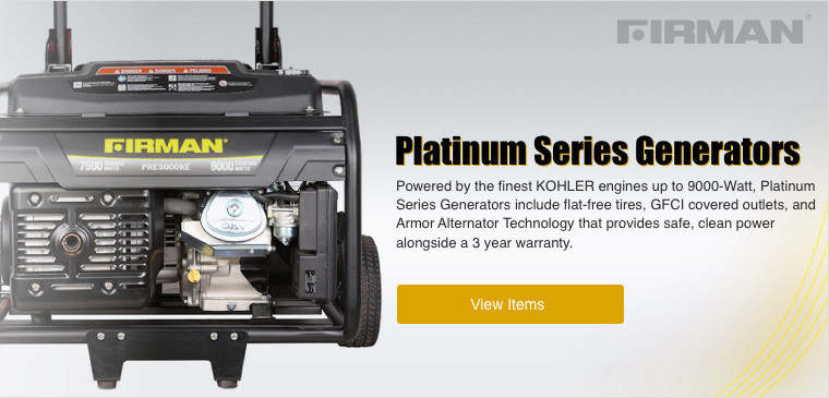 Shop Firman Platinum Series Generators