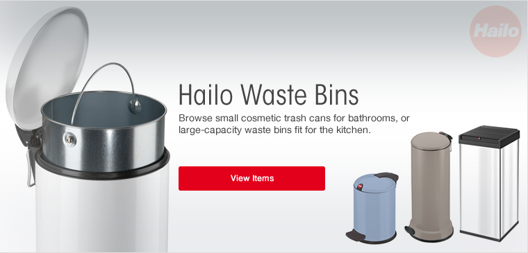 View all Hailo Waste Bins