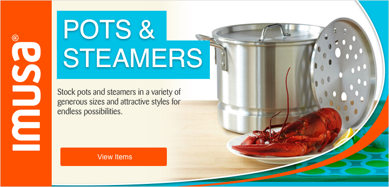 View IMUSA Pots & Steamers