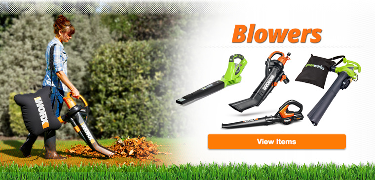 Shop our selection of leaf blowers