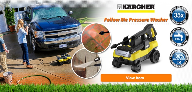 Karcher Follow Me Pressure Washer