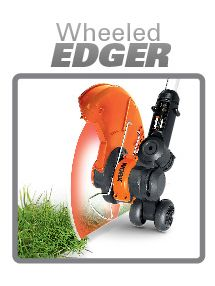 The Worx GT's Wheeled Edger Feature
