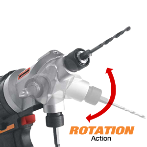 Worx Switchdrivers Rotating head action