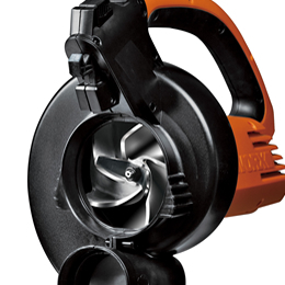 A detailed look at the Worx Trivac all metal impeller