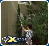 The XHOSE works wonders for outdoor cleaning