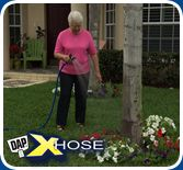 Use the XHOSE to water your garden