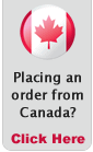 Want to place an order from Canada? Click Here