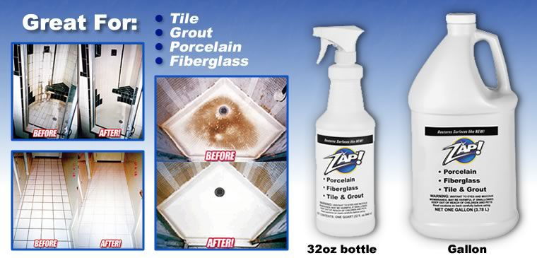 Zap Tile And Grout Cleaner Tile Design Ideas